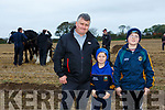 At the Abbeydorney Ploughing Match on Sunday were Seamus Hunt, James Hunt and Sean Hunt from Lixnaw