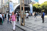 RIO DE JANEIRO, RJ, 24.01.2014 - EVNTO CONTRA INTOLERÂNCIA RELIGIOSA / RJ- Fernando Gabeira no evento contra a intolerância religiosa,na tarde desta sexta-feira (24), na Cinelândia, no centro do Rio de Janeiro. (Foto: Marcelo Fonseca / Brazil Photo Press).