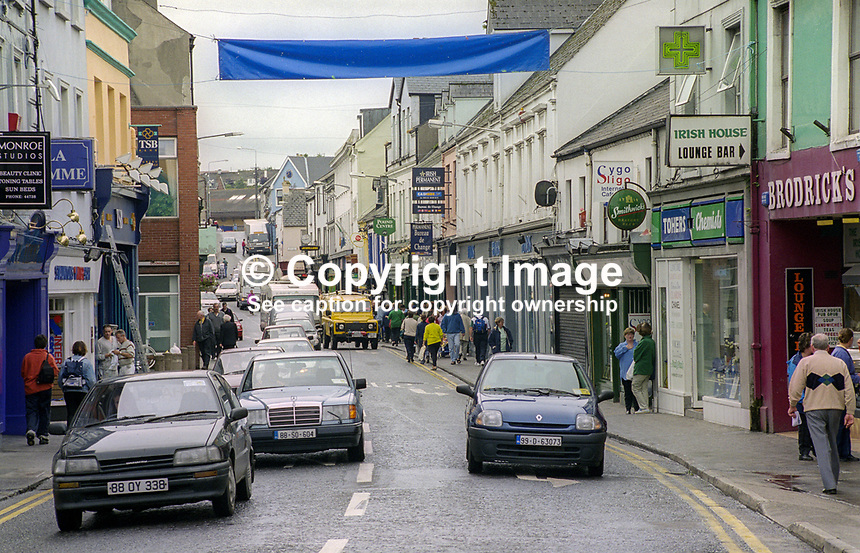 O&rsquo;Connell Street, Sligo, Rep of Ireland, August, 1999, 199908046<br />