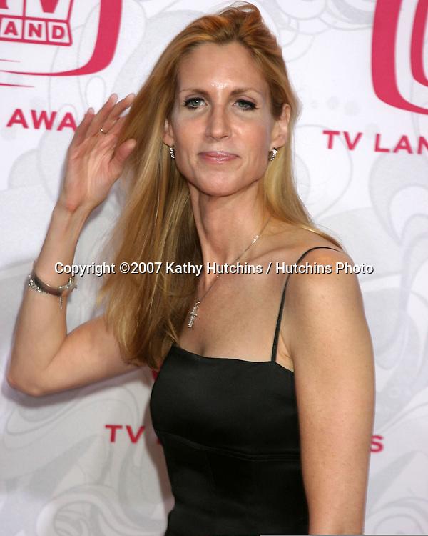 Ann Coulter.TV Land Awards 2007.Barker Hanger.Santa Monica, CA.April 14, 2007.©2007 Kathy Hutchins / Hutchins Photo....