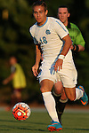 14 August 2015: North Carolina's Alan Winn. The University of North Carolina Tar Heels hosted the Winthrop University Eagles at Fetzer Field in Chapel Hill, NC in a 2015 NCAA Division I Men's Soccer preseason exhibition. North Carolina won the game 4-1.