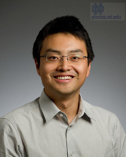 Jiahan Li..Photo by Matt Cashore/University of Notre Dame
