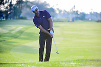 Retief Goosen (ZAF) watches his approach shot on 2 during round 1 of the Honda Classic, PGA National, Palm Beach Gardens, West Palm Beach, Florida, USA. 2/23/2017.<br /> Picture: Golffile | Ken Murray<br /> <br /> <br /> All photo usage must carry mandatory copyright credit (&copy; Golffile | Ken Murray)