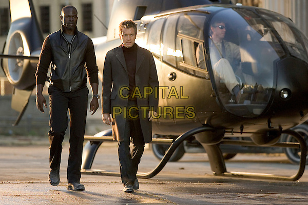 DJIMON HOUNSOU & EWAN McGREGOR.in The Island.Filmstill - Editorial Use Only.CAP/AWFF.www.capitalpictures.com.sales@capitalpictures.com.Supplied By Capital Pictures.