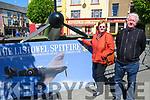 Listowel Military Tattoo: Pictured with the Listowel Spitfire on Sunday  last were Noreen & Christy Brennan from Listowel.