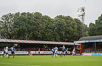 General view of play during the pre season friendly match between Aldershot Town and Wycombe Wanderers at the EBB Stadium, Aldershot, England on 22 July 2017. Photo by Andy Rowland.