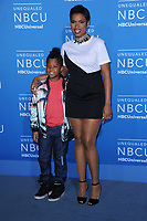 www.acepixs.com<br /> May 15, 2017  New York City<br /> <br /> Jennifer Hudson and David Daniel Otunga Jr attending the 2017 NBCUniversal Upfront at Radio City Music Hall on May 15, 2017 in New York City.<br /> <br /> Credit: Kristin Callahan/ACE Pictures<br /> <br /> <br /> Tel: 646 769 0430<br /> Email: info@acepixs.com