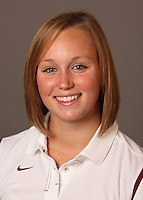 STANFORD, CA - SEPTEMBER 10:  Jessie Hammes of the Stanford Cardinal during women's swimming picture day on September 10, 2009 in Stanford, California.