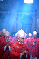 Cardinal ÁLVAREZ MARTÍNEZ Francisco ,Pope Benedict XVI during a Mass  for cardinals and bishops deceased over the year, inside St. Peter's  Basilica,  at the Vatican.Nov. 3, 2008.         .