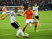 Marco Reus (Deutschland, Germany) gegen Daley Blind (Niederlande) - 06.09.2019: Deutschland vs. Niederlande, Volksparkstadion Hamburg, EM-Qualifikation DISCLAIMER: DFB regulations prohibit any use of photographs as image sequences and/or quasi-video.