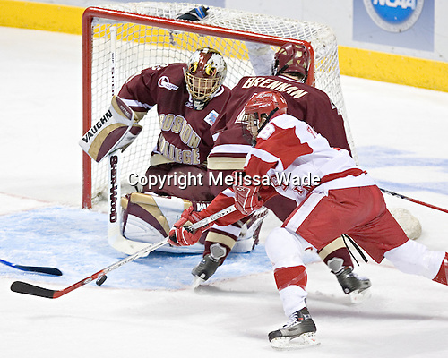Joe Pavelski on Cory Schneider and Mike Brennan - The University of Wisconsin Badgers defeated the Boston College Eagles 2-1 on Saturday, April 8, 2006, at the Bradley Center in Milwaukee, Wisconsin in the 2006 Frozen Four Final to take the national Title.
