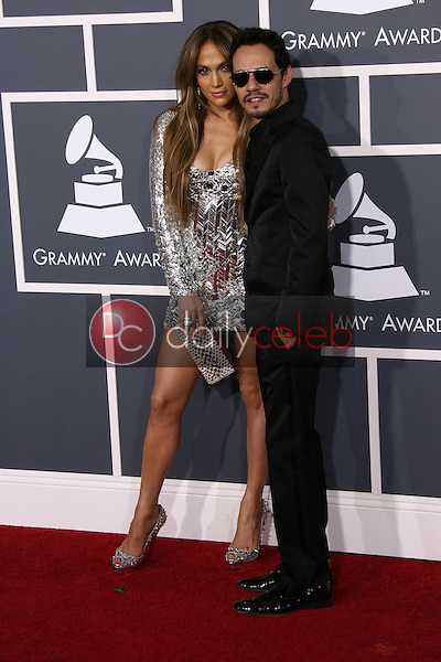 Jennifer Lopez and Marc Anthony<br /> at the 53rd Annual Grammy Awards, Staples Center, Los Angeles, CA. 02-13-11<br /> David Edwards/DailyCeleb.com 818-249-4998