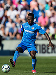 Dakonam Ortega Djene of Getafe CF in action during the La Liga 2017-18 match between Getafe CF and Real Madrid at Coliseum Alfonso Perez on 14 October 2017 in Getafe, Spain. Photo by Diego Gonzalez / Power Sport Images