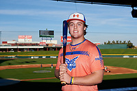 Tommy White during the Under Armour All-America Tournament powered by Baseball Factory on January 17, 2020 at Sloan Park in Mesa, Arizona.  (Zachary Lucy/Four Seam Images)