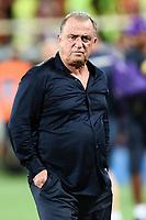 Fatih Terim<br /> Firenze 11/8/2019 Stadio Artemio Franchi <br /> Football friendly match 2019/2020 <br /> ACF Fiorentina - Galatasaray <br /> Foto Daniele Buffa / Image / Insidefoto