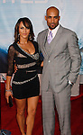 "HOLLYWOOD, CA. - September 24: Nicole Ari Parker and Boris Kodjoe arrive at the Los Angeles premiere of ""Surrogates"" at the El Capitan Theatre on September 24, 2009 in Hollywood, California."
