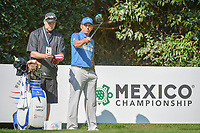 Sergio Garcia (ESP) checks his alignment from the number 2 tee during the preview of the World Golf Championships, Mexico, Club De Golf Chapultepec, Mexico City, Mexico. 2/28/2018.<br /> Picture: Golffile | Ken Murray<br /> <br /> <br /> All photo usage must carry mandatory copyright credit (&copy; Golffile | Ken Murray)