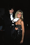 Heather Locklear and Tommy Lee Attending the APLA Aids Benefit, Los Angeles, California. September 1, 1985