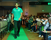 CALI -COLOMBIA-22-01-2019. Johan Wallens durante la presentación del Deportivo Cali, hoy, 23 de enero de 2019, en la ciudad de Cali. / Johan Wallens during the presentation of the cali Team today, January 23, 2018, in Cali City. Photo: VizzorImage/ NR / Cont
