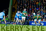 Jack Barry Kerry in action against  John Small Dublin during the Allianz Football League Division 1 Round 3 match between Kerry and Dublin at Austin Stack Park in Tralee, Kerry on Saturday night.