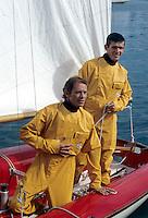 Vêtements de bateau vintage