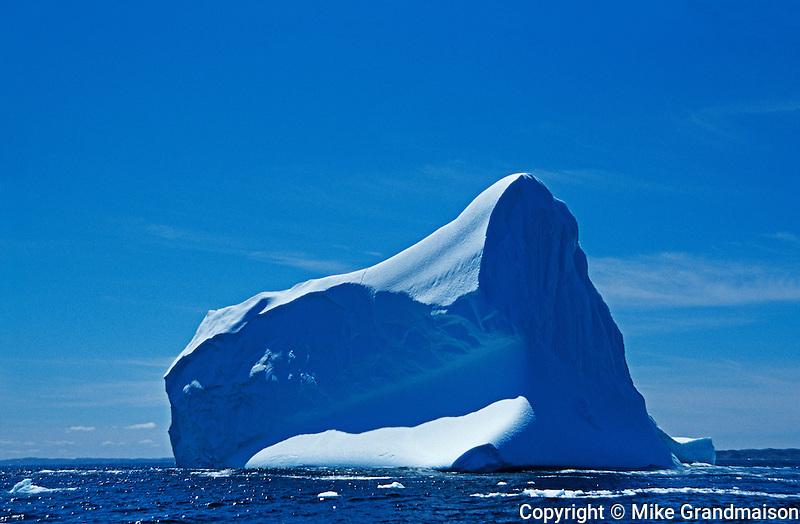 iceberg in Atlantic Ocean<br /> Griquet<br /> Newfoundland<br /> Canada