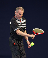Hilversum, The Netherlands, March 09, 2016,  Tulip Tennis Center, NOVK, Men's 75+, Gerard Scholtes<br /> Photo: Tennisimages/Henk Koster