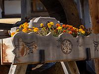 Wasserrad, Santa Maria, Val Müstair-Münstertal, Engadin, Graubünden, Schweiz, Europa<br /> waterwheel in Santa Maria, Val Müstair-Münster Valley, Engadine, Grisons, Switzerland