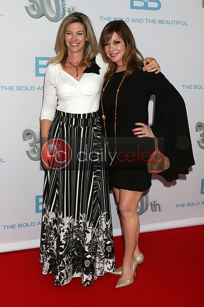 """Tracy Melchior, Bobbie Eakes<br /> at the """"The Bold and The Beautiful"""" 30th Anniversary Party, Clifton's Downtown, Los Angeles, CA 03-18-17<br /> David Edwards/DailyCeleb.com 818-249-4998"""