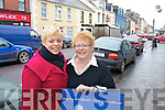 SHOPPERS: Local.ladies Tracey.McQuaid and her.mother Anne Dunne.enjoy a day out shopping.in Listowel.   Copyright Kerry's Eye 2008
