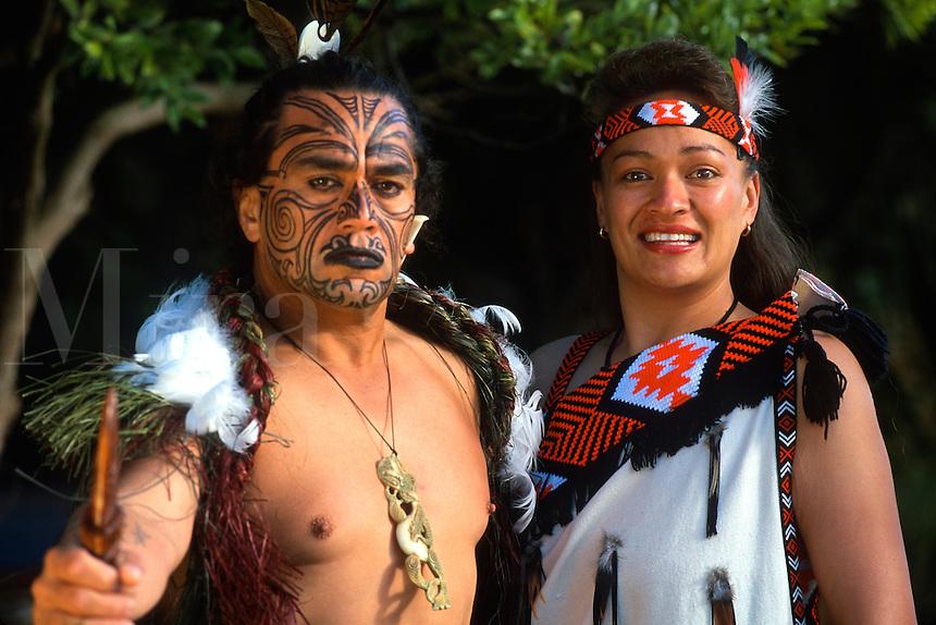 Maori Culture Tribe in Rotorua New Zealand