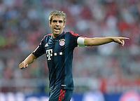 Fussball  International   Audi Cup 2013  Saison 2013/2014   31.07.2013 FC Bayern Muenchen - Sao Paulo FC  Philipp Lahm (FC Bayern Muenchen)