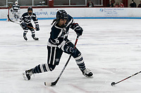 BOSTON, MA - FEBRUARY 16: Jada Christian #16 of University of New Hampshire takes a shot during a game between University of New Hampshire and Boston University at Walter Brown Arena on February 16, 2020 in Boston, Massachusetts.