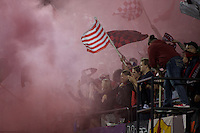 Portland, OR - Wednesday Sept. 07, 2016: Portland Thorns Fans during a regular season National Women's Soccer League (NWSL) match between the Portland Thorns FC and the Houston Dash at Providence Park.