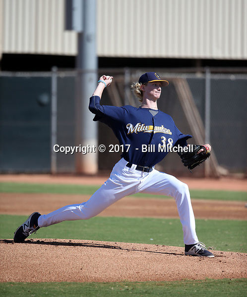 Caden Lemons - 2017 AIL Brewers (Bill Mitchell)