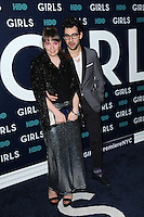www.acepixs.com<br /> February 2, 2017  New York City<br /> <br /> Lena Dunham and Jack Antonoff attending the New York premiere of the sixth &amp; final season of 'Girls' at Alice Tully Hall, Lincoln Center on February 2, 2017 in New York City.<br /> <br /> Credit: Kristin Callahan/ACE Pictures<br /> <br /> <br /> Tel: 646 769 0430<br /> Email: info@acepixs.com