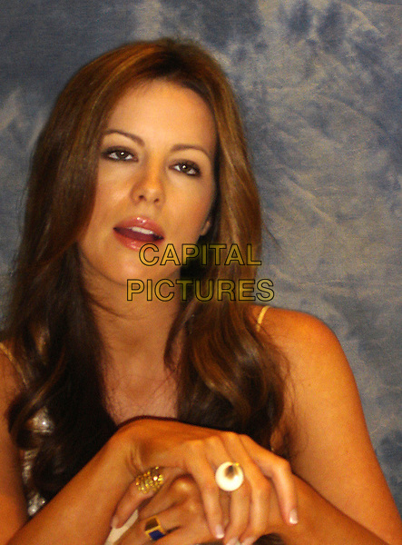 "KATE BECKINSALE.Photocall for ""Click"" held at the Four Seasons Hotel, Los Angeles, California, USA. .June 5th, 2006.Ref: AW.headshot portrait.www.capitalpictures.com.sales@capitalpictures.com.© Capital Pictures."
