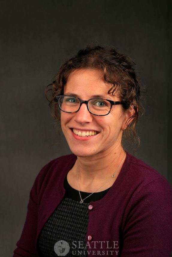 10252011 - Seattle University, campus portraits/head shot day 1, Emily Lieb, Matteo Ricci College, Professor