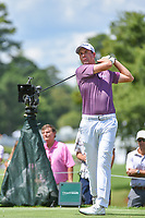 Webb Simpson (USA) watches his tee shot on 4 during round 2 of the 2019 Tour Championship, East Lake Golf Course, Atlanta, Georgia, USA. 8/23/2019.<br /> Picture Ken Murray / Golffile.ie<br /> <br /> All photo usage must carry mandatory copyright credit (© Golffile | Ken Murray)