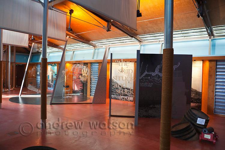 Exhibits in the James Cook Historical Museum.  Cooktown, Queensland, Australia