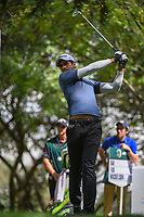 Aaron Rai (ENG) watches his tee shot on 16 during round 3 of the World Golf Championships, Mexico, Club De Golf Chapultepec, Mexico City, Mexico. 2/23/2019.<br /> Picture: Golffile | Ken Murray<br /> <br /> <br /> All photo usage must carry mandatory copyright credit (© Golffile | Ken Murray)