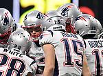 ATLANTA, GA - FEBRUARY 3:  end of third quarter to Super Bowl LIII at Mercedes-Benz Stadium in Atlanta, Georgia on February 3, 2019. (Staff Photo By Christopher Evans/MediaNews Group/Boston Herald)