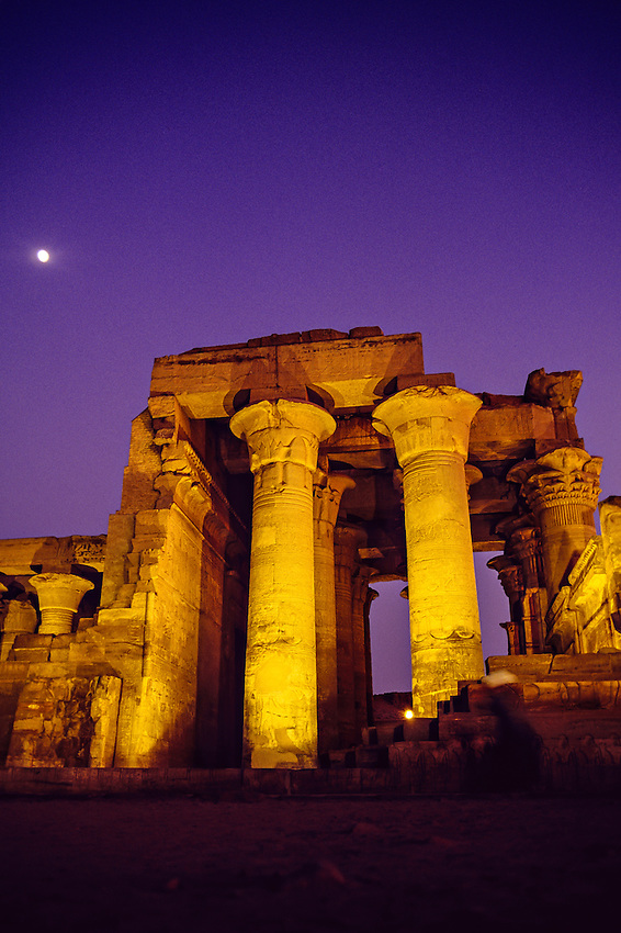 Greco-Roman Temple of Haruris at Kom Ombo on the Nile River, Egypt