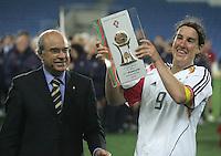 MAR 15, 2006: Faro, Portugal:  Birgit Prinz