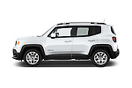 Car Driver side profile view of a 2015 JEEP Renegade Latitude Door Sport Utility Vehicle Side View