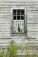 Abandoned house detail, Maine, USA