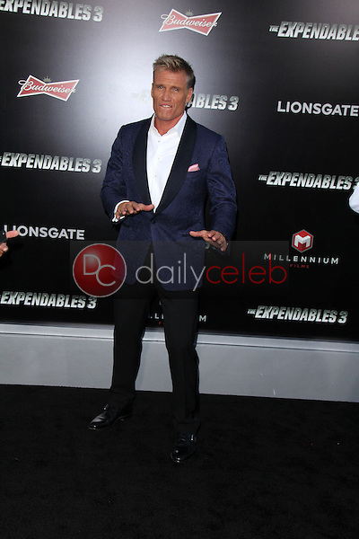 Dolph Lundgren<br /> at &quot;The Expendables 3&quot; Los Angeles Premiere, TCL Chinese Theater, Hollywood, CA 08-11-14<br /> David Edwards/Dailyceleb.com 818-249-4998