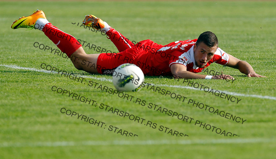 Fudbal Kup Srbije season 2013-2014<br /> Proleter Novi Sad v Crvena Zvezda<br /> Stefan Mihajlovic<br /> Novi Sad, 25.09.2013.<br /> foto: Srdjan Stevanovic/Starsportphoto &copy;
