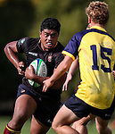 Takaji Young-Yen of King's during the pre-season 1st XV rugby match between Kings College and Scots College of Australia. Kings College, Auckland, New Zealand. Saturday 9th April 2016. Photo: Simon Watts/www.bwmedia.co.nz