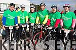 "At the St Brendan's NS FENIT Coastal Cycle on Saturday were Declan Cotter, Deirdre O'Mahony, Aisling O Mahony, Adrian O'Mahony, Joann Crowley, Brid O'Driscoll, cycling for Motor Neurone Disease, in Memory Patrick Joseph ""Stocky"" O'MAHONY and Tommy Brosnan"